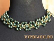 Ожерелье Эльфийское золото