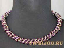 Ожерелье из бисера Феерия