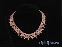 Ожерелье Розовый вечер