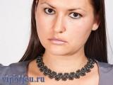 Ожерелье с гематитом