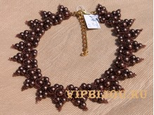 Ожерелье Шоколад-1